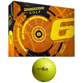 Promotional Bridgestone E6 Yellow Golf Balls 12-Pack