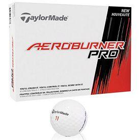 Promotional Taylormade Aero Burner Pro Golf Balls 12-Pack