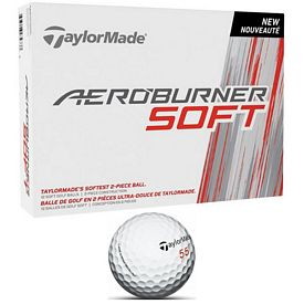 Promotional Taylormade Aero Burner Soft Golf Balls 12-Pack