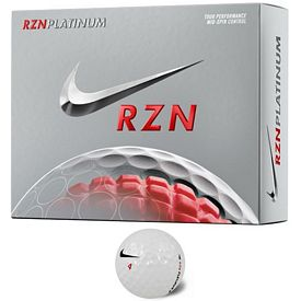 Promotional Nike RZN Platinum Golf Balls 12-Pack