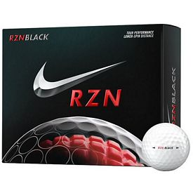 Promotional Nike RZN Black Golf Balls 12-Pack