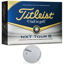 Promotional Titleist NXT Tour S Golf Balls 12-Pack
