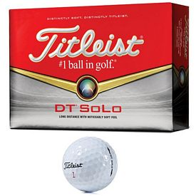 Promotional Titleist DT SoLo Golf Balls 12-Pack
