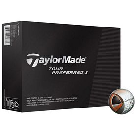 Promotional Taylormade Tour Preferred X Golf Balls 12-Pack