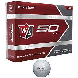 Promotional Wilson Staff 50 Elite Golf Balls 12-Pack