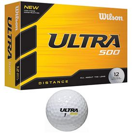 Promotional Wilson Ultra 500 Golf Balls 12-Pack