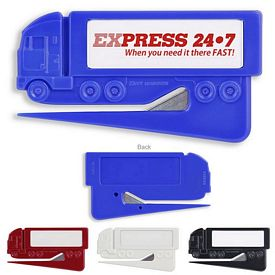 Promotional Zippy 18 Wheeler Letter Opener