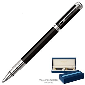 Promotional Waterman Perspective Black CT Roller Ball Pen