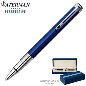 Promotional Waterman Perspective Blue CT Ballpoint Pen