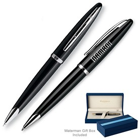 Promotional Waterman Carene Black Sea St Ballpoint Pen