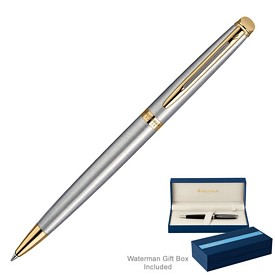 Promotional Waterman Hemisphere Stainless Gt Ballpoint Pen
