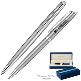 Promotional Waterman Hemisphere Stainless Ct Ballpoint Pen