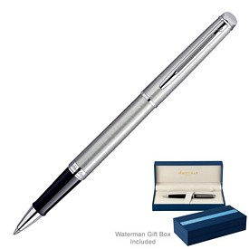 Custom Waterman Hemisphere Stainless Ct Roller Ball Pen