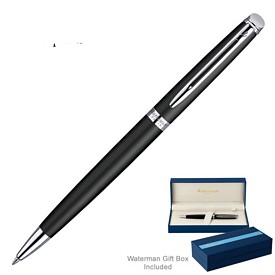 Promotional Waterman Hemisphere Matte Black Ct Ballpoint Pen