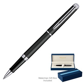 Custom Waterman Hemisphere Matte Black Ct Roller Ball Pen