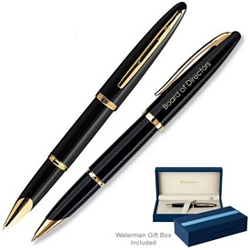 Promotional Waterman Carene Black Sea Gt Rollerball Pen