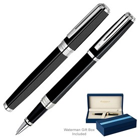 Promotional Waterman Exception Night Day Black Roller Ball Pen