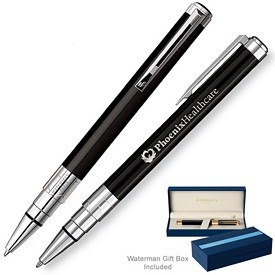 Custom Waterman Perspective Black Ct Ballpoint Pen