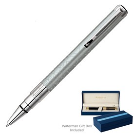 Promotional Waterman Perspective Silver Ct Ballpoint Pen
