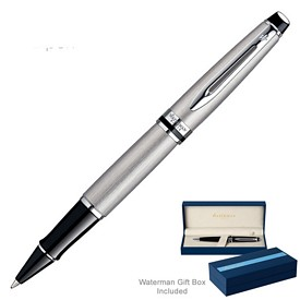 Promotional Waterman Expert Stainless Ct Roller Ball Pen
