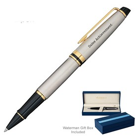 Promotional Waterman Expert Stainless Gt Roller Ball Pen