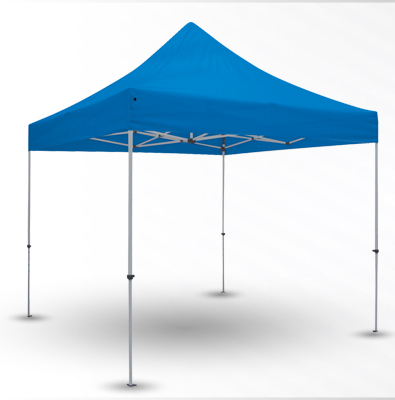 Non-Printed Blank Tents