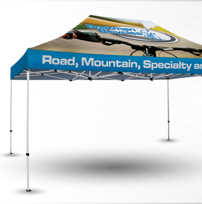 Customized Full Color Sublimated Tents