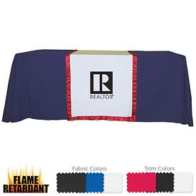 Customized 28-inch Accent Table Runner (1-Color Imprint)