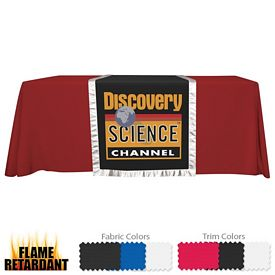 Promotional 28-inch Accent Table Runner Dye-Sub (Full-Color Full Bleed)
