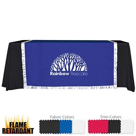 Customized 57-inch Accent Table Runner (1-Color Imprint)