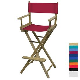 Customized Director Chair Bar Height - Blank Only