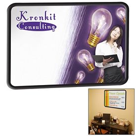 Customized Premium Brilliant Dry Erase Board 23-inch x 35-inch (PVC Frame)