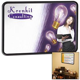 Promotional Premium Brilliant Dry Erase Board 35-inch x 47-inch (PVC Frame)