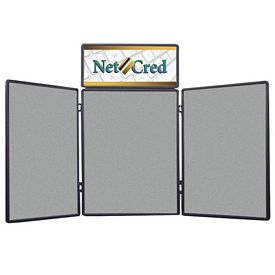 Promotional 4 Ft Show-N-Fold with Graphic Header Kit B