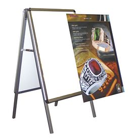 Customized Snap Indoor A-Frame Sign (Replacement Graphic Only)