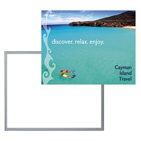 Customized 22-inch x 28-inch LED Lightbox - Replacement Graphic Only