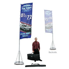 Promotional Giant Outdoor Banner Display Kit Single-Sided