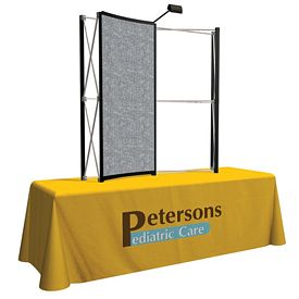 Customized 6 Ft Show-N-Rise Tabletop Fabric Curved (Center Panel Only)