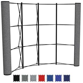 Promotional Show-N-Rise Fabric Radius (End Panel Only)