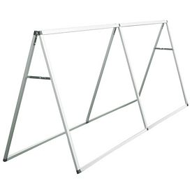 Customized 8 Ft Horizontal A-Frame Display (Hardware Only)
