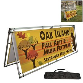 Promotional 8 Ft Horizontal A-Frame Display Kit