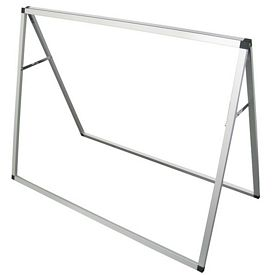 Customized 4 Ft Horizontal A-Frame Display (Hardware Only)