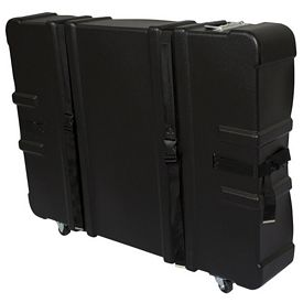 Promotional Floor Display Hard Case with Wheels 43x34