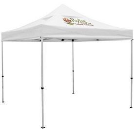 Promotional Premium 10 Ft Square Tent with Vented Canopy (Full Color Print)