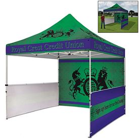 Promotional Standard 10 Ft Square Showstopper Tent Package Full Color Sublimation