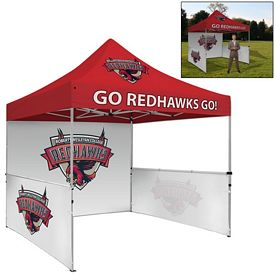 Customized Deluxe 10 Ft Square Showstopper Tent Package (Full Color Print)