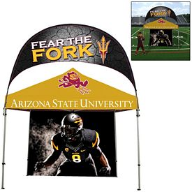 Promotional Deluxe 10 Ft Square Marquee Banner Tent Package (Full-Color Print)