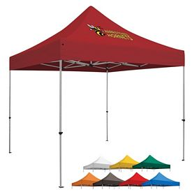 Customized Deluxe 10 Ft Square Showstopper Tent (Full-Color Print)