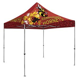 Promotional Deluxe 10 Ft Square Showstopper Tent (Full Color Sublimation)