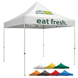 Promotional Premium 10 Ft Square Tent (Full Color Print)